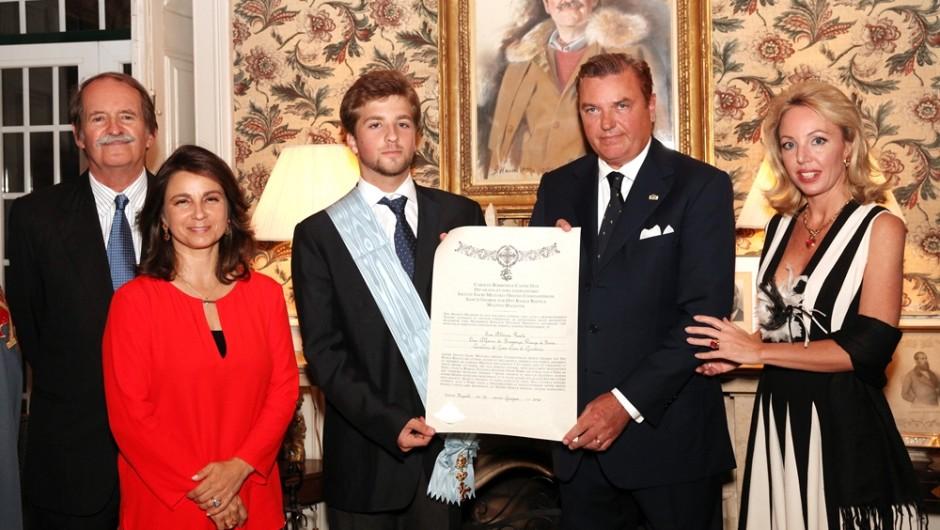 Le Duc et la Duchesse de Castro en  visite au Portugal (3/4/5 juillet 2014)
