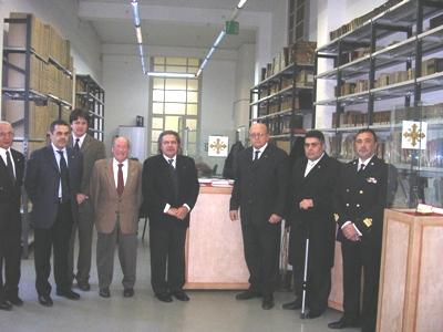 Un'interessante mostra documentaria sull'Ordine Costantiniano