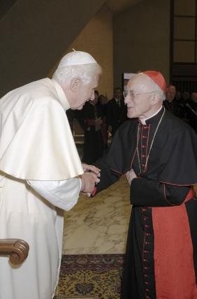 S.A.R. il Principe e Gran Maestro ha nominato Sua Eminenza Reverendissima il Signor Cardinale Albert Vanhoye S.J., Consigliere ecclesiastico della Real Casa di Borbone delle Due Sicilie