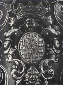 Particolare del fucile di Carlo di Borbone