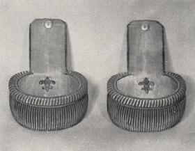 Epaulette du Capitaine Commandant du 1er régiment d'infanterie de ligne