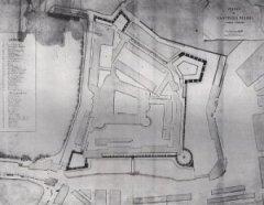 Naples - Plan de Castello Nuovo