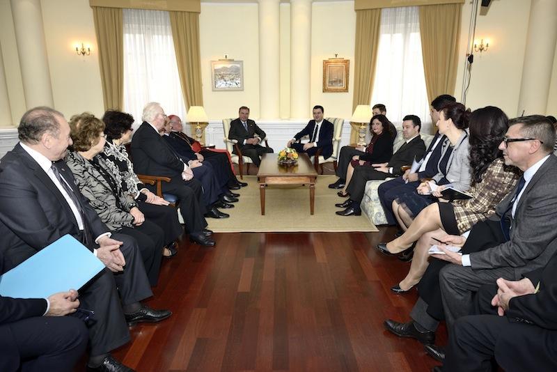 Le Duc de Castro en visite officielle en Albanie