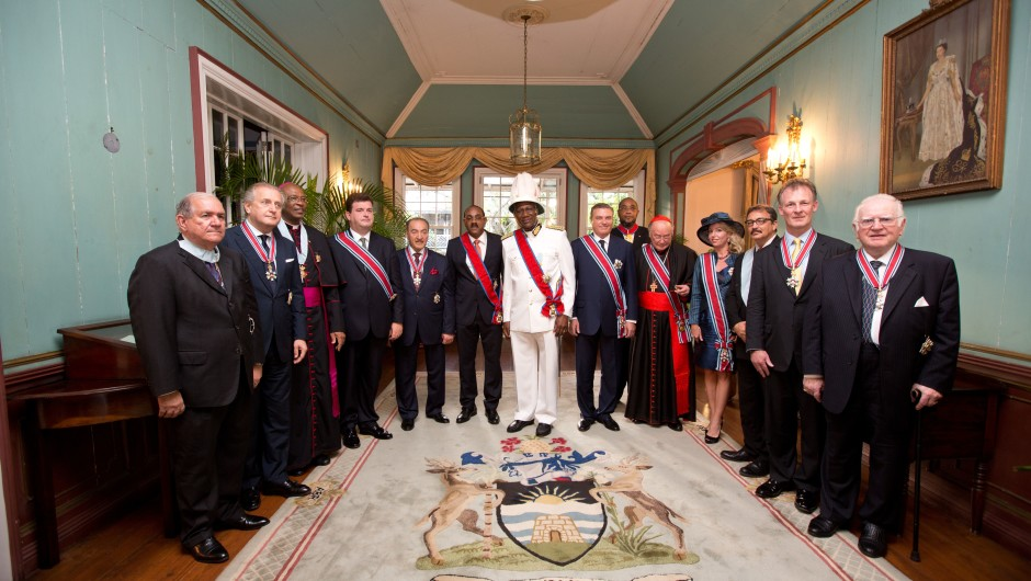 Caribbean, November 1st 2014 – Official Visit of T.R.H. Prince and Princess Charles of Bourbon Two Sicilies, Duke and Duchess of Castro to the Caribbean