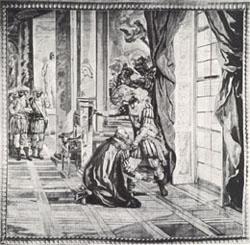 Enrico IV si riconcilia col Sully