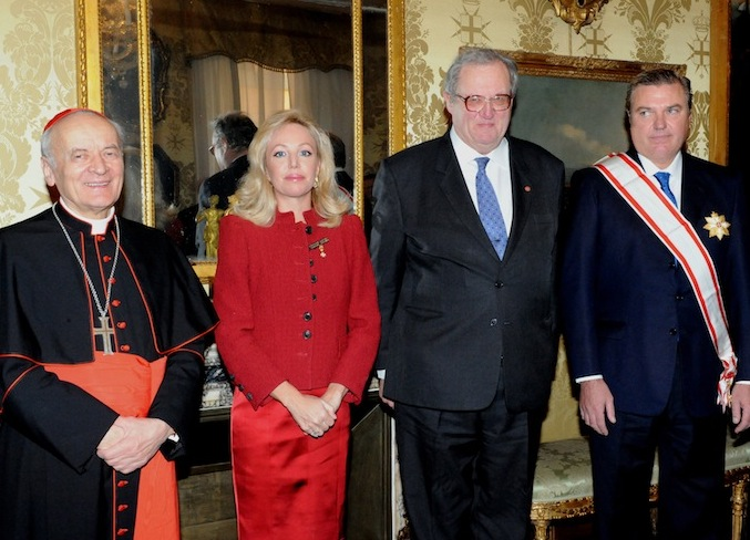 Duke of Castro honoured by the Order of Malta