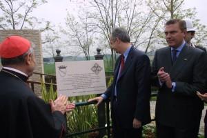 Inaugurazione del Giardino sensoriale per malati di Alzheimer