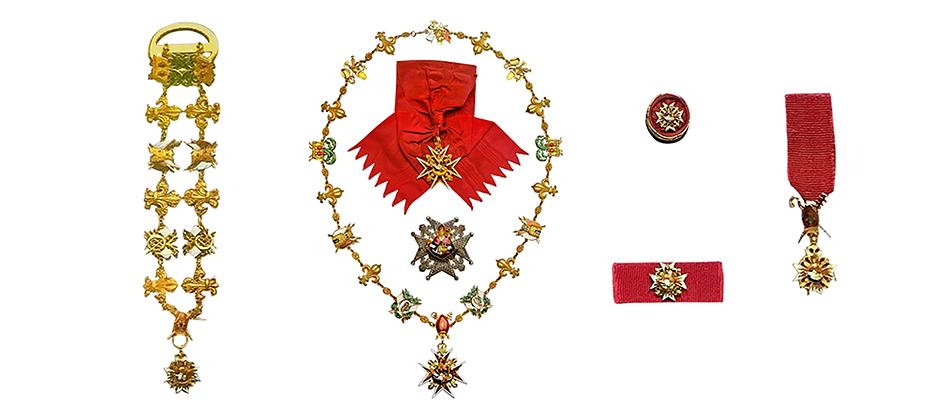 Insigne Real Ordine di San Gennaro……..
