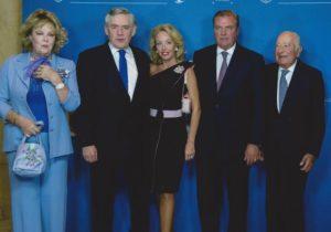 LL.AA.RR. i Duchi di Castro, Donna Edoarda Vesel, S.E. il Primo Ministro Gordon Brown