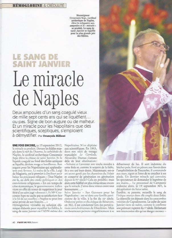 Le Miracle de Naples