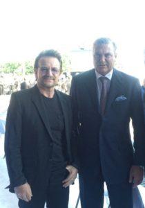 S.A.R. il Principe Carlo di Borbone delle Due Sicilie, Duca di Castro con Bono Vox