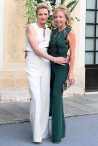 S.A.R. la Principessa Camilla di Borbone delle Due Sicilie, Duchessa di Castro E S.A.S. la Principessa Charlene of Monaco