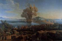 Explosión del polverín de Gaeta