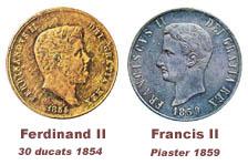 La monnaie sous Ferdinand IV