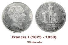 La monetazione di Francesco I