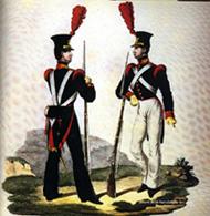 Elèves de la Nunziatella en 1832