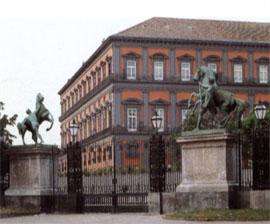Vista del palacio desde los