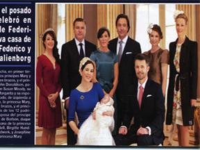 Il Battesimo del Principe Vincent Frederik Minic Alexander e della Principessina Josephine Sofia Ivalo Mathilde