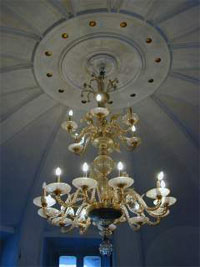 The Elegant Chandelier in the Entrance Hall