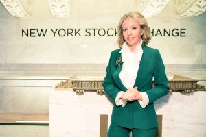 NEW YORK, NY - MARCH 08: Princess Camilla of Bourbon Two Sicilies attends UNWFPA's NYSE bell ringing in celebration of International Women's Day at New York Stock Exchange on March 8, 2018 in New York City. (Photo by Steven Ferdman/Patrick McMullan via Getty Images)