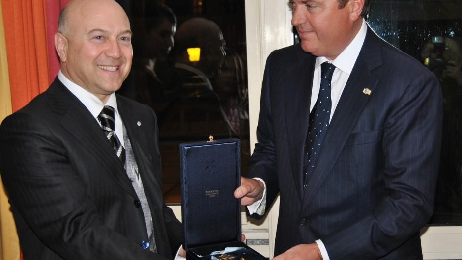 Incontro con l'Ambasciatore d'Italia a Monaco