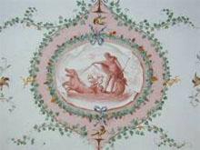 Detalle de un fresco