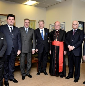 Rencontre avec l'ancien premier Ministre d'Albanie Sali Berisha