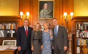 LLAARR con Mrs Schwartzman et Mr Tony Marx direttore della Public Library di New York