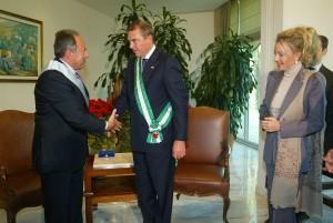 Le LL.AA.RR. i Duchi di Castro con il Presidente del Libano Emile Lahoud