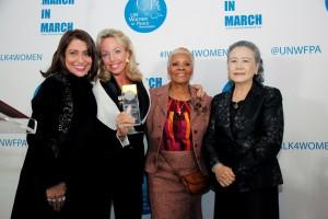 Mrs Muna Rihani Al-Nasser, S.A.R la Princesse de Bourbon des Deux Siciles Duchesse de Castro, Mrs Dionne Warwick, Mrs Ban Soon-Taek