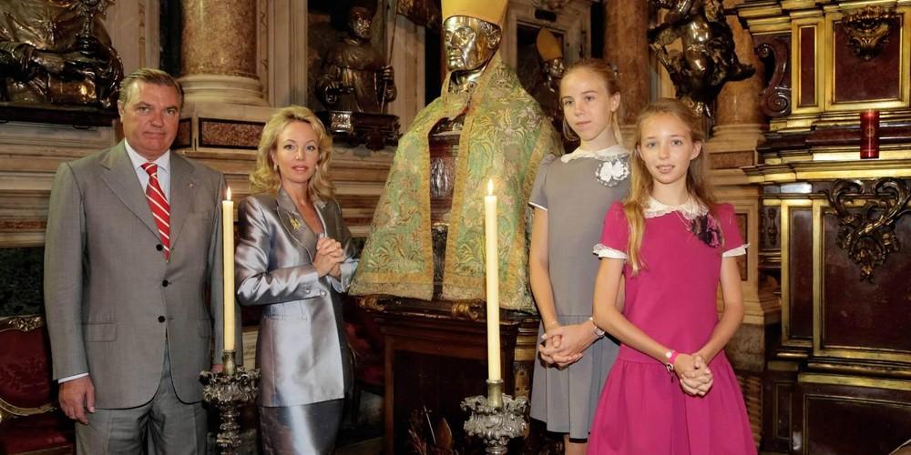 Real-Casa-di-Borbone-delle-Due-Sicilie_Camilla_Carlo_Maria-Carolina_-Maria-Chiara-di-Borbone-delle-Due-Sicilie-Museo-del-Tesoro-di-San-Gennaro