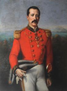 S.A.R. il Conte di Caserta in uniforme dellOrdine dello Speron d'Oro e di San Silvestro