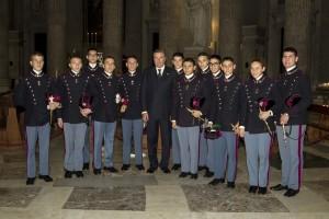 S.A.R._il_Duca_di_Castro_con_i_Cadetti_della_Scuola_Militare_Nunziatella
