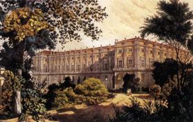 Vista del Palacio de Capodimonte desde el Parque - Antonio Giuli