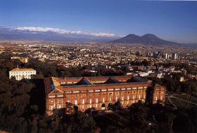 Museo Real de Capodimonte y la ciudad de Nápoles